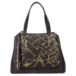 Женская сумка коричневого цвета из натуральной кожи от Fiato Dream, арт. 1232