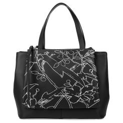 Повседневная женская сумка из натуральной кожи черного цвета от Fiato Dream, арт. 1233-d178454