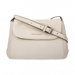 Бежевая молодежная женская сумка через плечо из натуральной кожи от Fiato Dream, арт. 2039-d171347