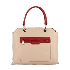 Классическая бежевая женская сумка, выполненная из натуральной кожи от Fiato Dream, арт. 2042-d149138