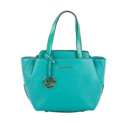 Женская сумка из зеленой зернистой натуральной кожи от Fiato Dream, арт. 2045