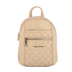 Стильный городской женский рюкзак из натуральной кожи бежевого оттенка от Fiato Dream, арт. 5213-d149147