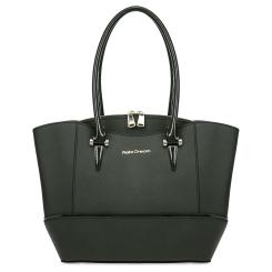 Стильная женская сумка зеленого цвета из натуральной кожи сафьяно от Fiato Dream, арт. 6007-d178457