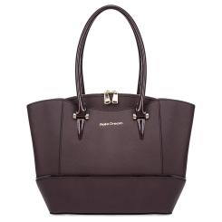 Бордовая женская сумка из натуральной кожи с тиснением Saffiano от Fiato Dream, арт. 6007-d178459