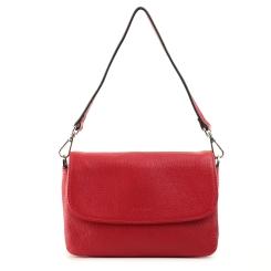 Маленькая женская сумка с тремя отделениями и откидным клапаном из натуральной кожи от Fiato, арт. 5248