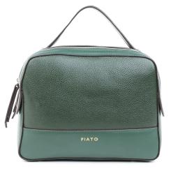 Зеленая женская сумка с прочной верхней ручкой и наплечным ремнем от Fiato, арт. 5433