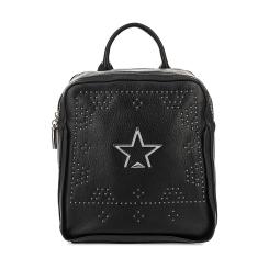 Женский рюкзак из натуральной кожи, черного цвета, с двумя автономными отделениями от Fiato, арт. 3022-d172457