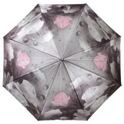 Большой зонт-трость с конструкцией из фибергласа от Flioraj, арт. 051106 FJ