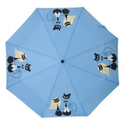 Автоматический яркий зонт с эффектным рисунком на куполе от Flioraj, арт. 160401 FJ