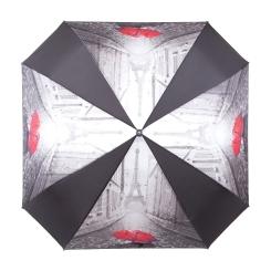 Стильный женский зонт автомат с куполом оригинальной формы от Flioraj, арт. 170103 FJ