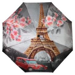 Большой женский автоматический зонт с романтичным принтом на куполе от Flioraj, арт. 231222 FJ