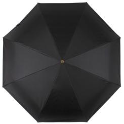Мужской зонт автомат черного цвета, с увеличенным куполом от Flioraj, арт. 41023 FJ