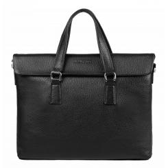 Деловая мужская сумка для документов, выполнена из натуральной кожи от Franchesco Mariscotti, арт. AB19910