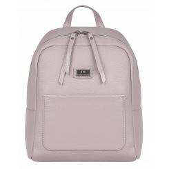 Модный женский городской рюкзак из розовой натуральной кожи от Franchesco Mariscotti, арт. AB20855