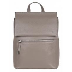 Стильный женский городской рюкзак из натуральной кожи кофейного цвета от Franchesco Mariscotti, арт. AB21250