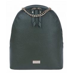 Стильный женский городской рюкзак из натуральной кожи цвета хаки от Franchesco Mariscotti, арт. AB21962