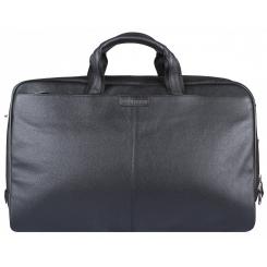Дорожная женская сумка из натуральной кожи, черного цвета, со съемным ремнем от Franchesco Mariscotti, арт. AB22421