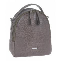 Городской женский рюкзак из бежевой натуральной кожи от Franchesco Mariscotti, арт. AB23312
