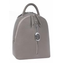 Стильный городской женский рюкзак из натуральной кожи, бежевого цвета от Franchesco Mariscotti, арт. AB23365