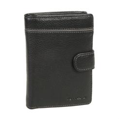 Мужское кожаное портмоне черного цвета с защитой от считывания карт от Gianni Conti, арт. 1818451 black