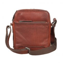 Кожаная сумка-планшет для мужчин, модель светло-коричневого цвета от Gianni Conti, арт. 4112372 tan