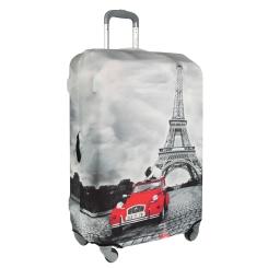 """Стильное защитное покрытие для чемодана с рисунком """"Париж"""" от Gianni Conti, арт. 9020 M Travel Paris"""