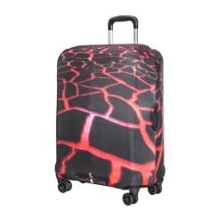 Защитное покрытие для дорожного чемодана с рисунком лавы от Gianni Conti, арт. 9038 L