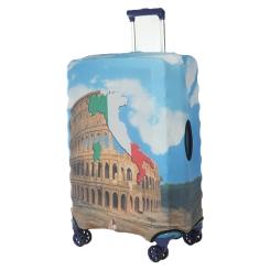 Защитное покрытие для чемодана с архитектурным притом от Gianni Conti, арт. 9018 S