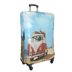 Защитное покрытие для чемодана с изображением микроавтобуса от Gianni Conti, арт. 9025 S