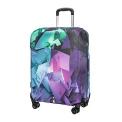 Защитное покрытие для чемодана из полиэстера и лайкры с принтом от Gianni Conti, арт. 9040 S