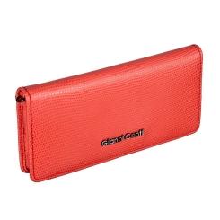 Женский кожаный кошелек, кораллового цвета, со съемным ремешком от Gianni Conti, арт. 2788285 coral