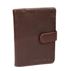 Темно-коричневая кожаная обложка для паспорта и автодокументов от Gianni Conti, арт. 1137458 dark brown