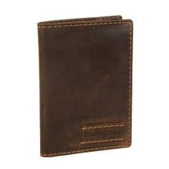 Практичная обложка для паспорта, выполненная из кожи от Gianni Conti, арт. 1227454 dark brown