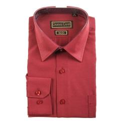 Детская сорочка из материала бордового цвета от Gianni Conti, арт. Maroon- D06
