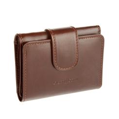 Мужское портмоне из коричневой натуральной кожи от Gianni Conti, арт. 908000 brown