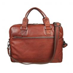 Мужская деловая сумка коричневого цвета из натуральной кожи от Gianni Conti, арт. 4111375 tan