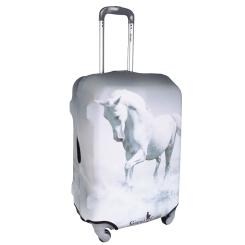 Красивый и светлый чехол для чемодана с красивым рисунком от Gianni Conti, арт. 9002 L