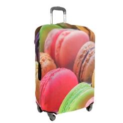 Сочный и яркий чехол для чемодана с красивым рисунком от Gianni Conti, арт. 9013 L Travel Macaroni