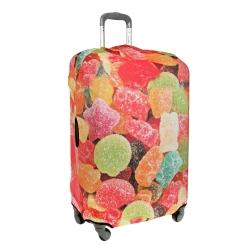Яркий и стильный чехол для чемодана от Gianni Conti, арт. 9016 L Travel Jujube
