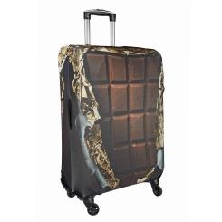 Необычный чехол для чемодана с шоколадным рисунком от Gianni Conti, арт. 9028 L
