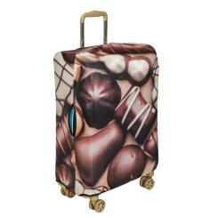 Стильный чехол для чемодана в коричневых тонах от Gianni Conti, арт. 9030 L