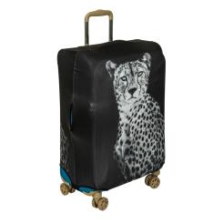 Стильный чехол для чемодана в черно-белых тонах от Gianni Conti, арт. 9031 L