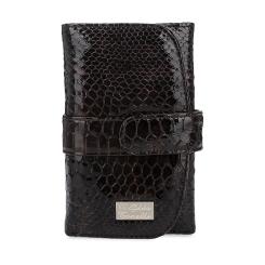 Стильный женский кошелек из натуральной кожи с тиснением под крокодила от Gilda Tonelli, арт. п2801