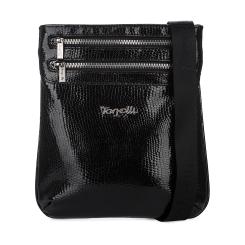 Элегантная мужская сумка планшет из натуральной кожи с тиснением под рептилию от Gilda Tonelli, арт. м2051