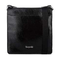 Элегантная маленькая мужская сумка через плечо из натуральной кожи от Gilda Tonelli, арт. м2054-d174643
