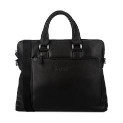 Стильная мужская деловая сумка для документов, выполнена из натуральной кожи от Gilda Tonelli, арт. м2931