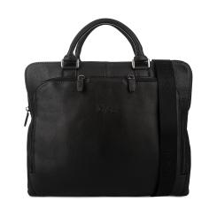 Деловая мужская сумка для документов и ноутбука, выполнена из натуральной кожи от Gilda Tonelli, арт. м3050
