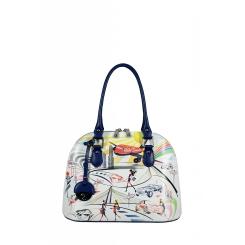 Молодежная женская сумка с оригинальным и ярким рисунком от Gilda Tonelli, арт. SSGT8570
