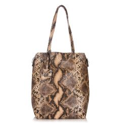 Модная женская двойная сумка из натуральной кожи с тиснением от Giorgio Ferretti, арт. 32433 13A coffee GF