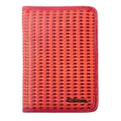 Роскошная кожаный обложка для документов, украшенная эффектным тиснением от Giorgio Ferretti, арт. 00019-A328 red GF